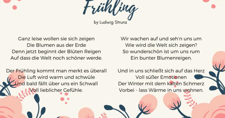 Frühling …